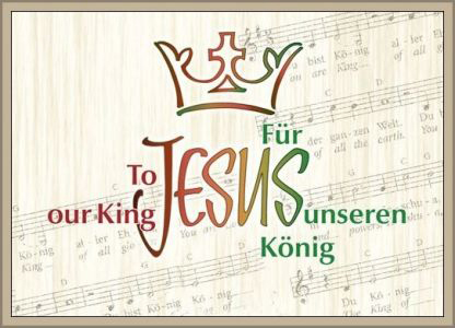 If you would like to contribute towards towards the recording costs of To Jesus Our King